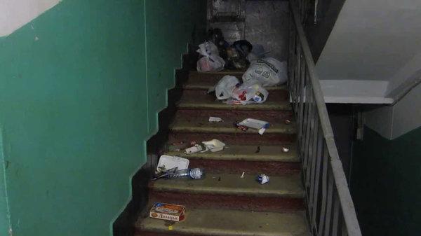 Штраф за выброс мусора из окна дома